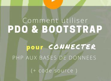 Comment utiliser PDO et Bootstrap pour connecter PHP aux bases de données