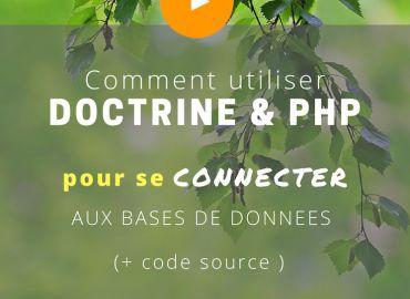 Comment utiliser Doctrine et PHP pour se connecter aux bases de données